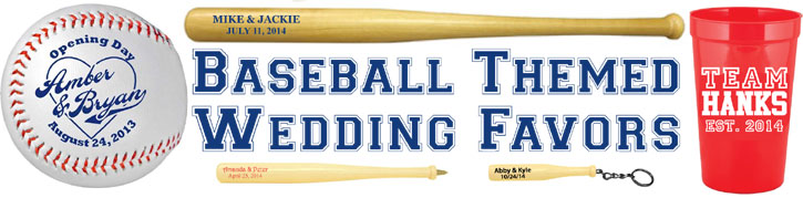 Baseball Themed Weddings